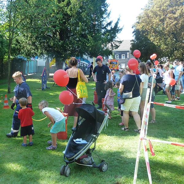 Gruppe 112 Das Kinder Feuerwehrfest 2
